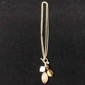 Lia Sophia Gold Tone Necklace